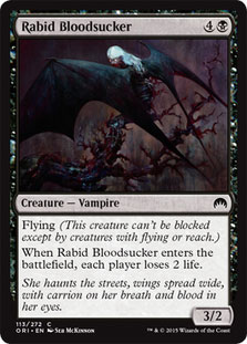 Rabid Bloodsucker Magic Card