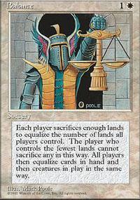 Balance Magic Card
