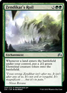 Zendikar's Roil Magic Card