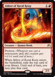 Abbot of Keral Keep Magic Card