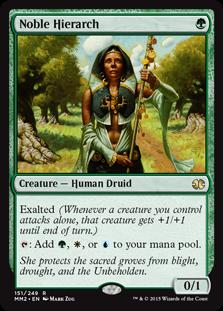 Noble Hierarch Magic Card