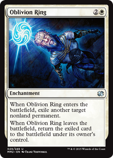 Oblivion Ring Magic Card