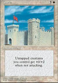 Castle Magic Card
