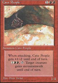 Cave People Magic Card