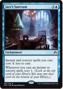 Jace's Sanctum Magic Card