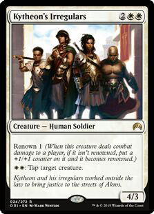 Kytheon's Irregulars Magic Card