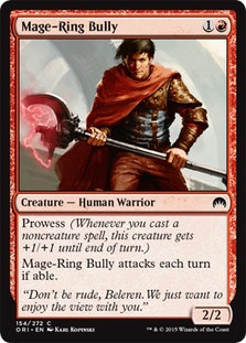 Mage-Ring Bully Magic Card