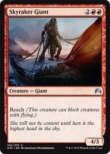 Skyraker Giant Magic Card