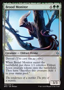 Brood Monitor Magic Card