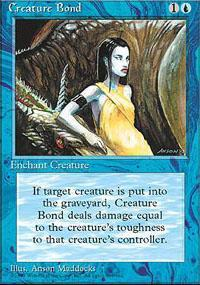 Creature Bond Magic Card