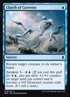 Clutch of Currents Magic Card