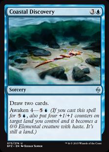 Coastal Discovery Magic Card