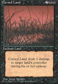 Cursed Land Magic Card
