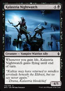 Kalastria Nightwatch Magic Card