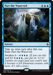 Part the Waterveil Magic Card