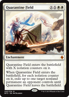 Quarantine Field Magic Card