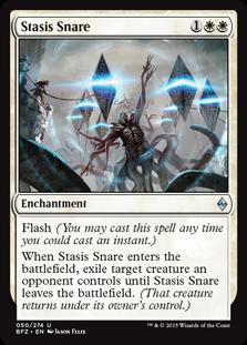 Stasis Snare Magic Card