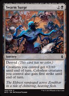 Swarm Surge Magic Card