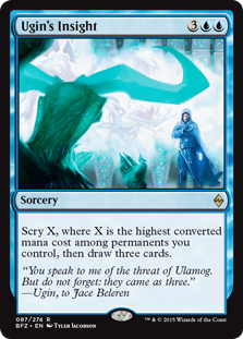 Ugin's Insight Magic Card