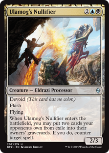 Ulamog's Nullifier Magic Card