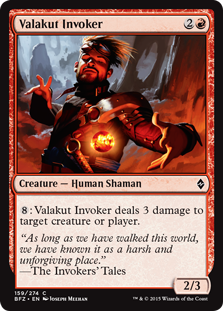 Valakut Invoker Magic Card