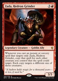 Zada, Hedron Grinder Magic Card