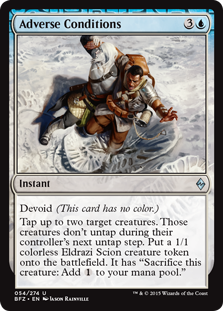 Adverse Conditions Magic Card