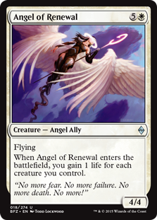 Angel of Renewal Magic Card