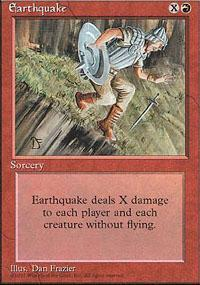 Earthquake Magic Card