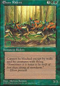 Elven Riders Magic Card