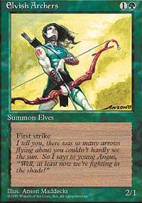 Elvish Archers Magic Card
