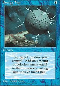 Energy Tap Magic Card