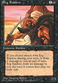 Erg Raiders Magic Card