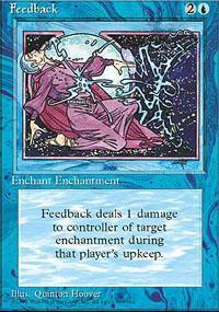 Feedback Magic Card
