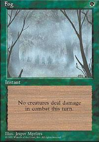 Fog Magic Card