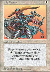 Holy Armor Magic Card