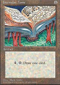 Jayemdae Tome Magic Card