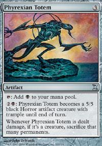 Phyrexian Totem Magic Card