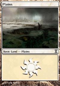 Plains Magic Card