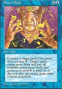 Power Sink Magic Card