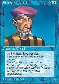 Prodigal Sorcerer Magic Card