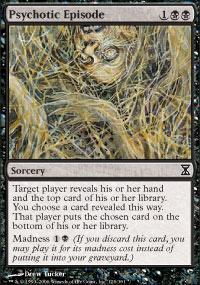 Psychotic Episode Magic Card