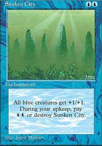Sunken City Magic Card