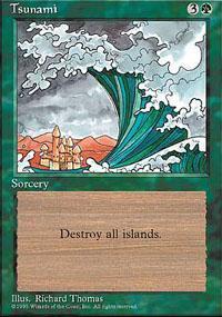 Tsunami Magic Card