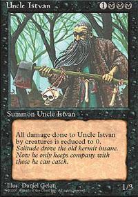 Uncle Istvan Magic Card