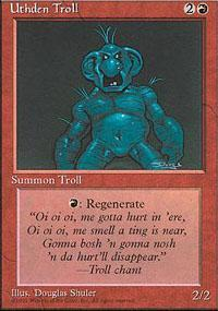 Uthden Troll Magic Card