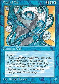 Wall of Air Magic Card