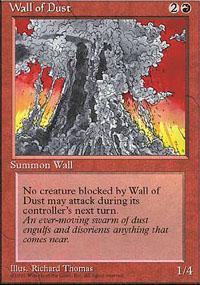 Wall of Dust Magic Card