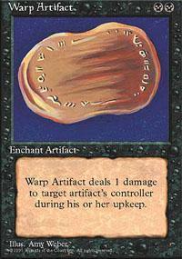 Warp Artifact Magic Card