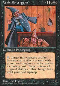 Xenic Poltergeist Magic Card
